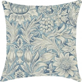 Sunflower Etch Fabric DMORSU203 by William Morris & Co