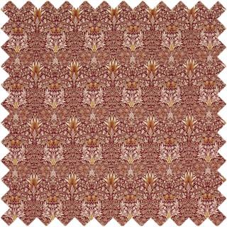 Snakeshead Velvet Fabric 236935 by William Morris & Co