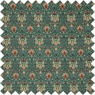 Snakeshead Velvet Fabric 236937 by William Morris & Co