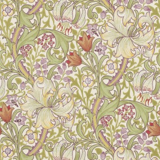 Golden Lily Wallpaper 210399 by William Morris & Co