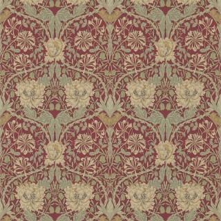 Honeysuckle & Tulip Wallpaper 214700 by William Morris & Co