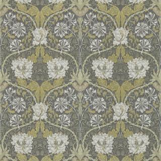 Honeysuckle & Tulip Wallpaper 214701 by William Morris & Co