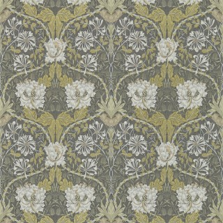 Honeysuckle & Tulip Wallpaper 214701 by William Morris & Co