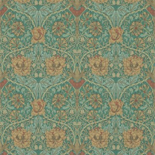 Honeysuckle & Tulip Wallpaper 214704 by William Morris & Co