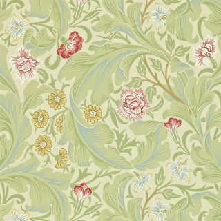 Leicester Wallpaper 212543 by William Morris & Co
