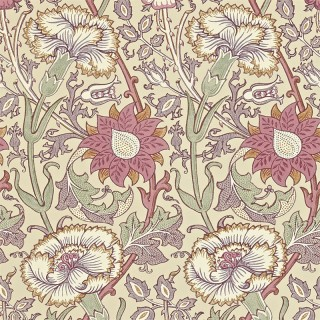 Pink and Rose Wallpaper 212566 by William Morris & Co