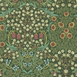 Blackthorn Wallpaper 210409 by William Morris & Co