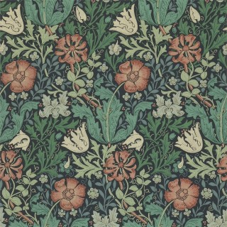 Compton Wallpaper 210421 by William Morris & Co