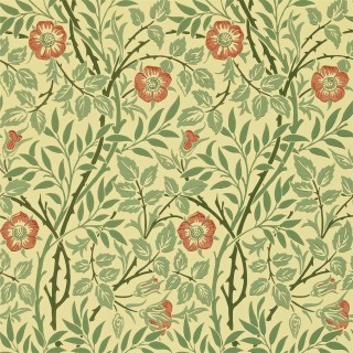 Sweet Briar Wallpaper 210478 by William Morris & Co