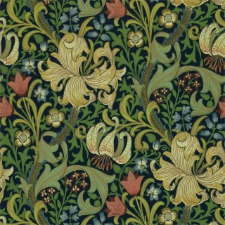 Golden Lily Wallpaper 216816 by William Morris & Co
