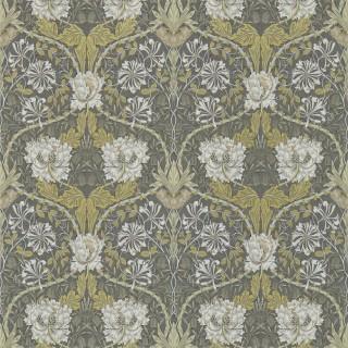 Honeysuckle & Tulip Wallpaper 216827 by William Morris & Co