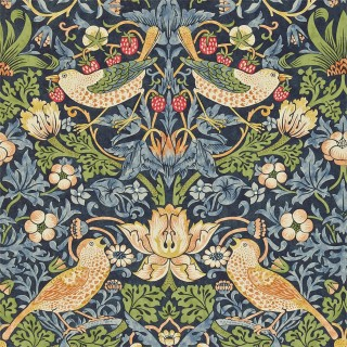 Strawberry Thief Wallpaper 216804 by William Morris & Co