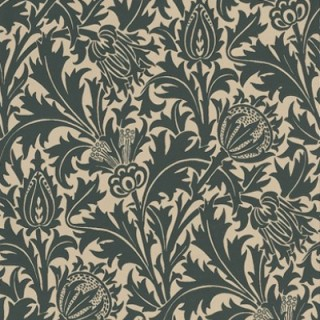 Thistle Wallpaper 210479 by William Morris & Co