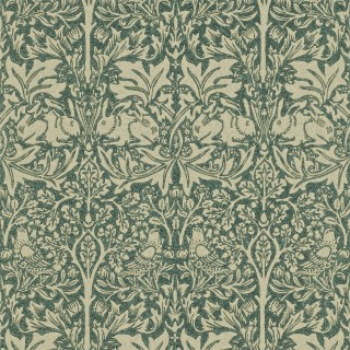 Brer Rabbit Wallpaper DMORBR102 by William Morris & Co