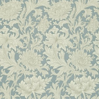 Chrysanthemum Toile Wallpaper DMOWCH101 by William Morris & Co