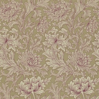 Chrysanthemum Toile Wallpaper DMOWCH102 by William Morris & Co