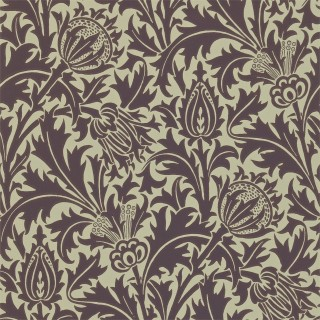 Thistle Wallpaper DMOWTH101 by William Morris & Co