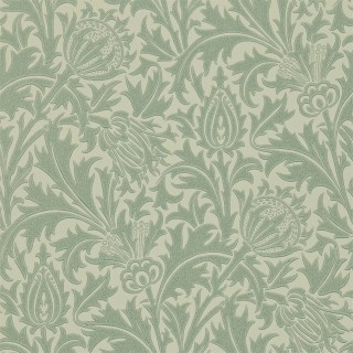 Thistle Wallpaper DMOWTH105 by William Morris & Co