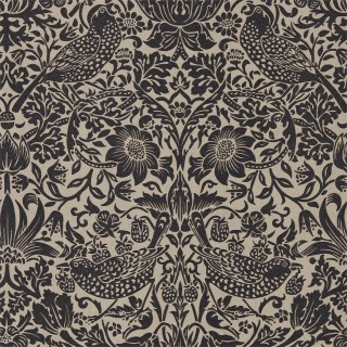 Strawberry Thief Wallpaper 216018 by William Morris & Co