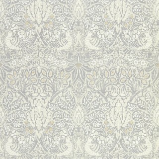 Pure Dove & Rose Wallpaper 216520 by William Morris & Co