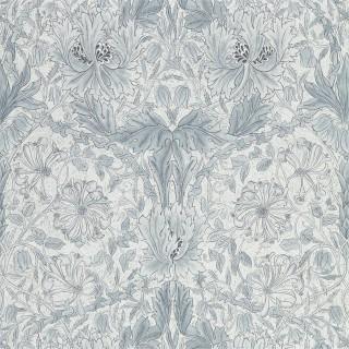 Pure Honeysuckle & Tulip Wallpaper 216524 by William Morris & Co