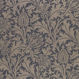 Pure Thistle Wallpaper 216549 by William Morris & Co