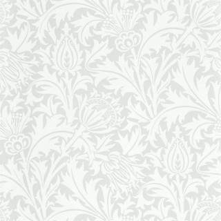 Pure Thistle Wallpaper 216550 by William Morris & Co