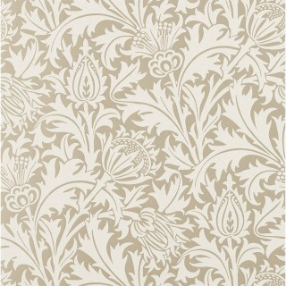 Pure Thistle (Beaded) Wallpaper 216548 by William Morris & Co