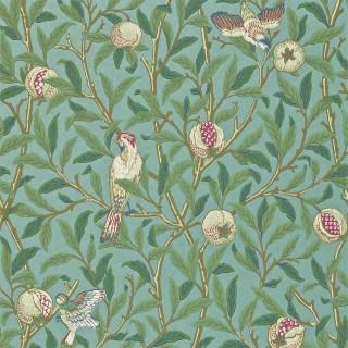 Bird & Pomegranate Wallpaper 216453 by William Morris & Co