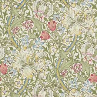 Golden Lily Wallpaper 216460 by William Morris & Co