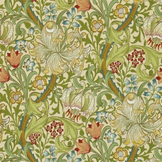 Golden Lily Wallpaper 216464 by William Morris & Co
