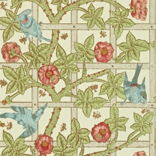 Trellis Wallpaper DMORTR101 by William Morris & Co