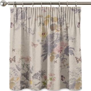 Oasis Botanical Bouquet Linen Fabric F1225/01