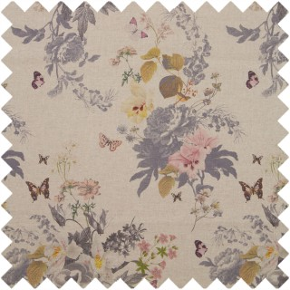Oasis Botanical Bouquet Linen Fabric F1225/01