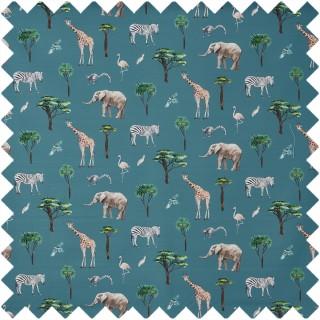 On Safari Fabric 8714/782 by Prestigious Textiles