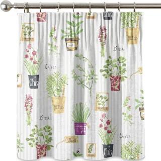 Prestigious Textiles Country Fair Herb Pots Fabric Collection 5816/638