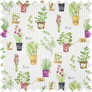 Prestigious Textiles Country Fair Herb Pots Fabric Collection 5816/638