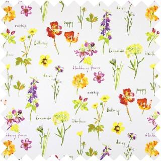 Prestigious Textiles Country Fair Wild Flowers Fabric Collection 5814/587