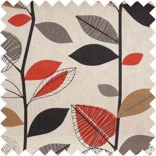 Prestigious Textiles Delamere Autumn Leaves Fabric Collection 5938/369