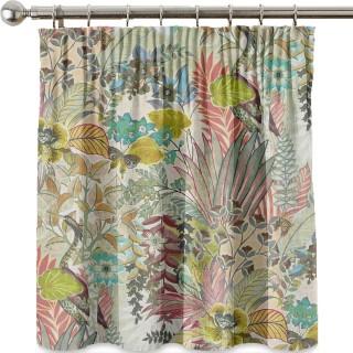 Hidden Paradise Fabric 3802/220 by Prestigious Textiles