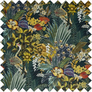 Hidden Paradise Fabric 3802/619 by Prestigious Textiles