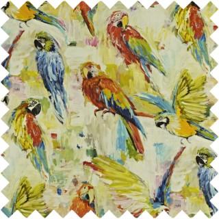 Prestigious Textiles Mardi Gras Macaw Fabric Collection 8570/522