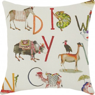 Prestigious Textiles Animal Alphabet Fabric 8628/196