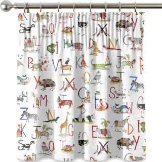 Animal Alphabet Fabric 8628/335 by Prestigious Textiles