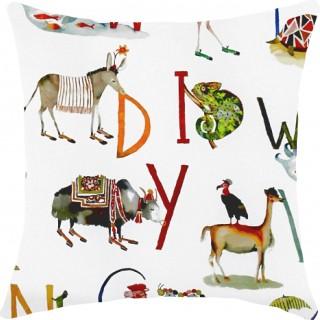 Prestigious Textiles Animal Alphabet Fabric 8628/335