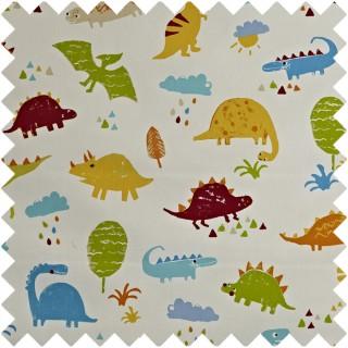 Prestigious Textiles Playtime Dino Fabric Collection 5715/335