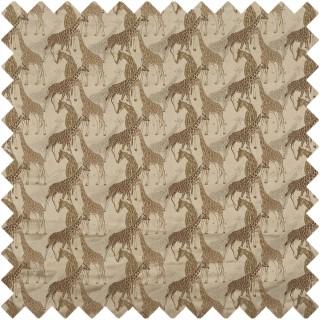 Giraffe Fabric 3865/549 by Prestigious Textiles