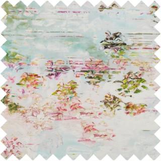 Black Edition Pleasure Gardens Fabric 7640/01