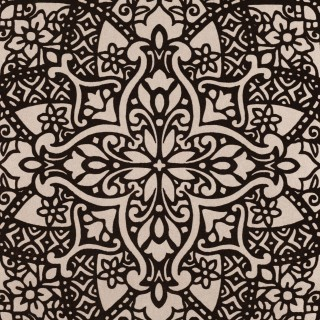 Black Edition Byzantine Flock Wallpaper W364/02