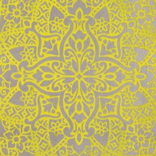 Black Edition Byzantine Flock Wallpaper W364/04